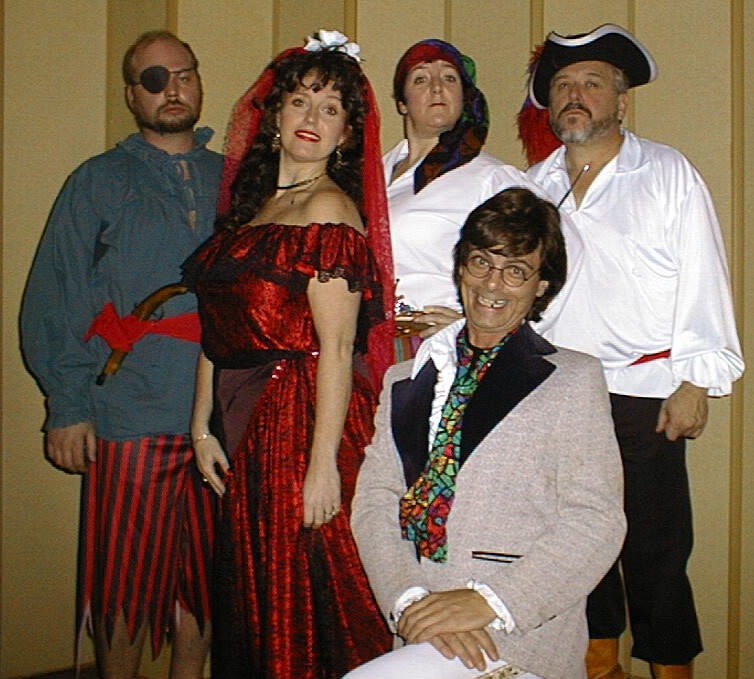 Pirate Show Cast