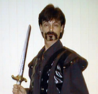 Butch Maxwell as the Sheriff of Nottingham